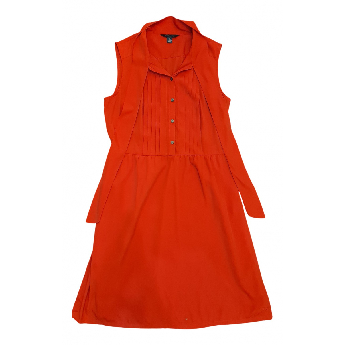 Tommy Hilfiger \N Kleid in  Rot Polyester