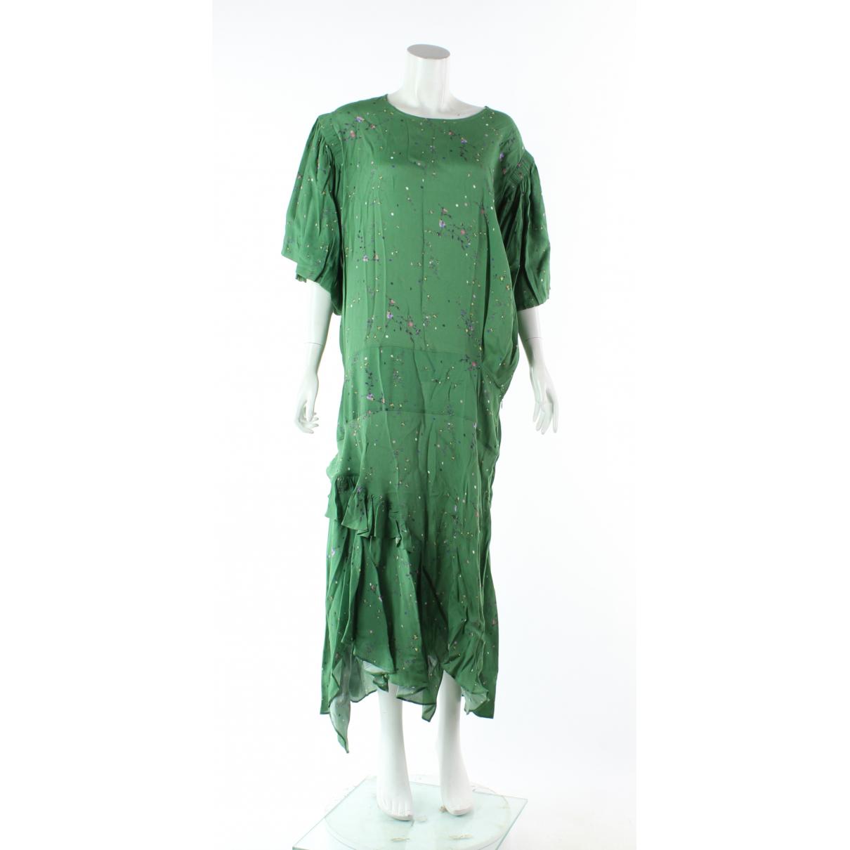 Preen Line \N Kleid in  Gruen Viskose