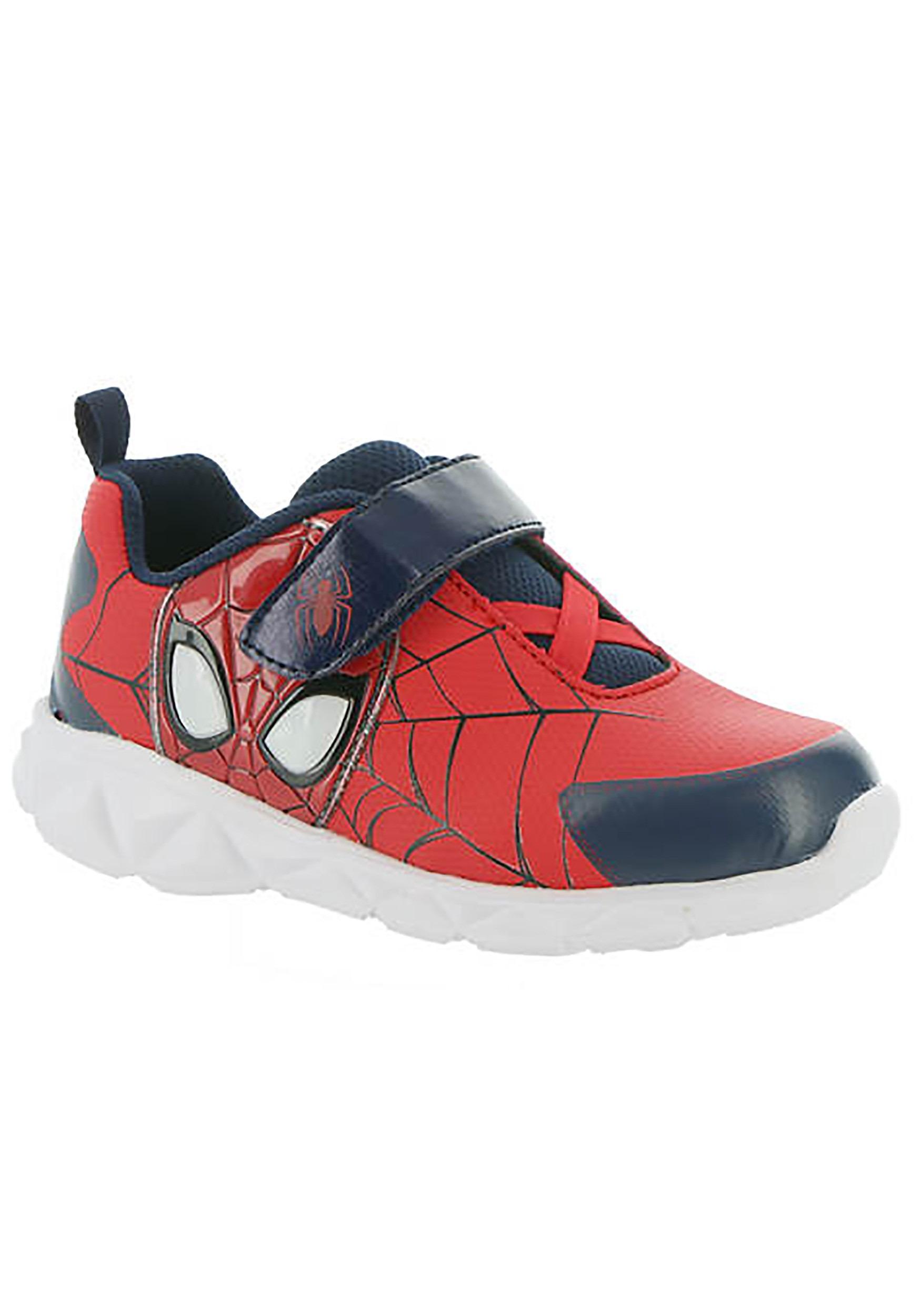 Spider-Man Face Lighted Sneaker for Kids