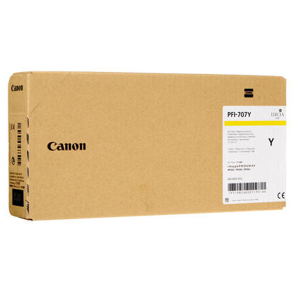 Canon PFI-707Y cartouche d'encre originale jaune