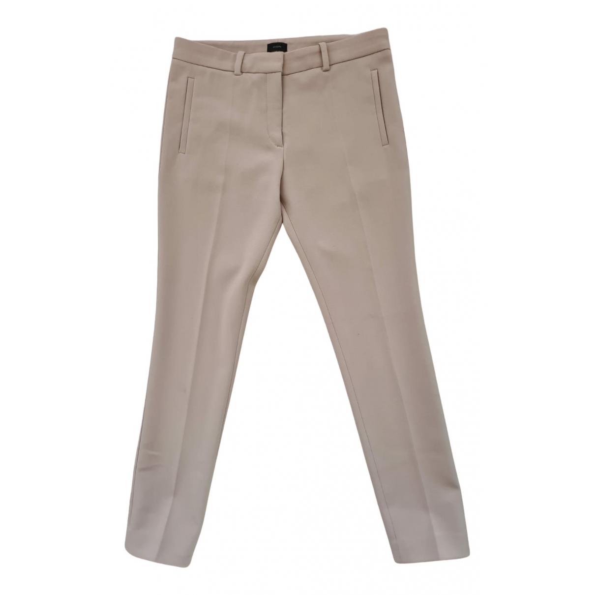 Pantalon en Poliester Beige Joseph