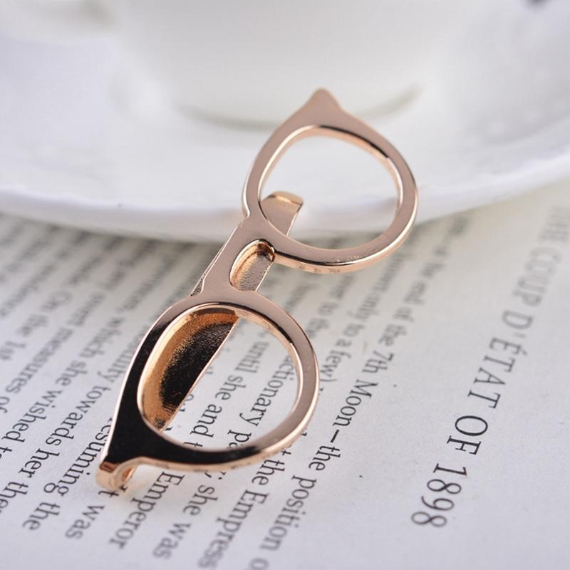 Ericdress Glasses Tie Clip