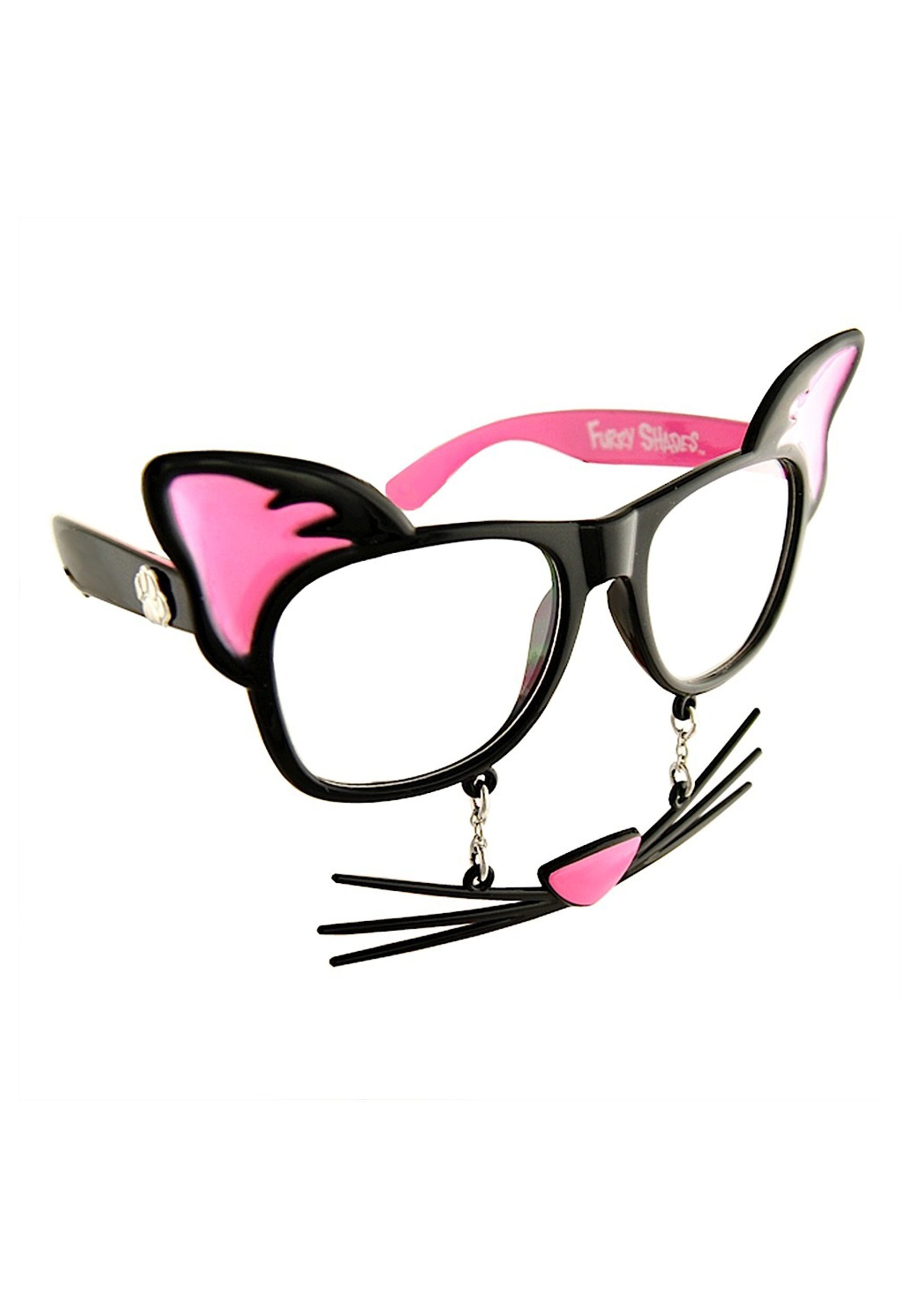 Cat 'Stache Adult Glasses