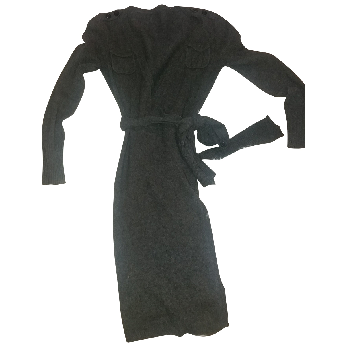 Issa \N Grey Wool dress for Women S International