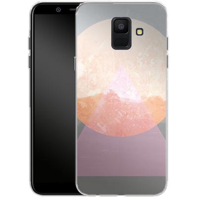 Samsung Galaxy A6 Silikon Handyhuelle - Landscape Abstract 3 von Mareike Bohmer