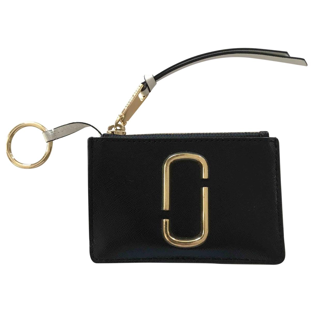 Marc Jacobs - Pochette   pour femme en cuir - noir
