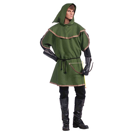 Mens Sherwood Archer Adult Costume Costume, One Size , Multiple Colors