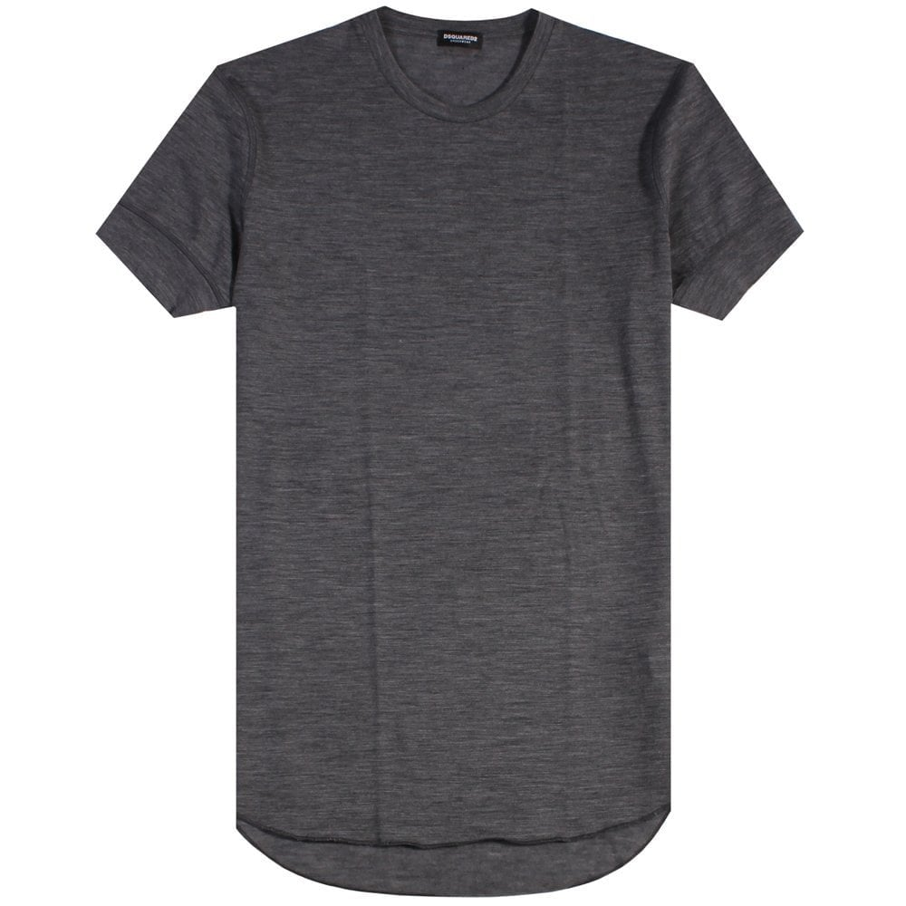Dsquared2 Plain Underwear T-shirt Colour: GREY, Size: SMALL