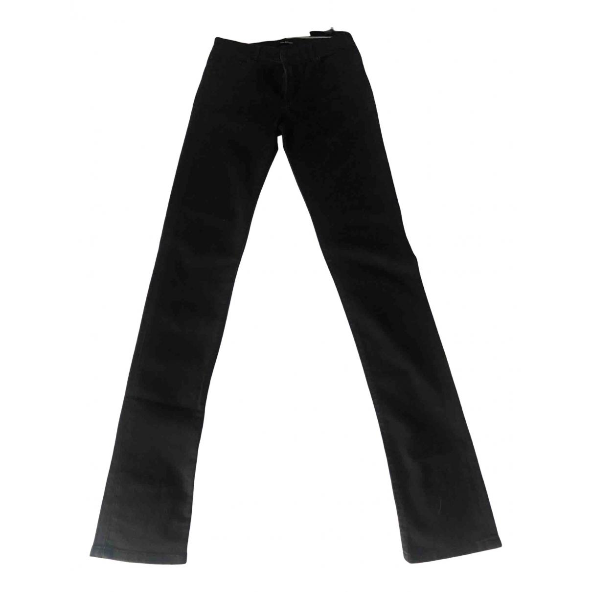 The Kooples N Black Spandex Trousers for Women 34 FR