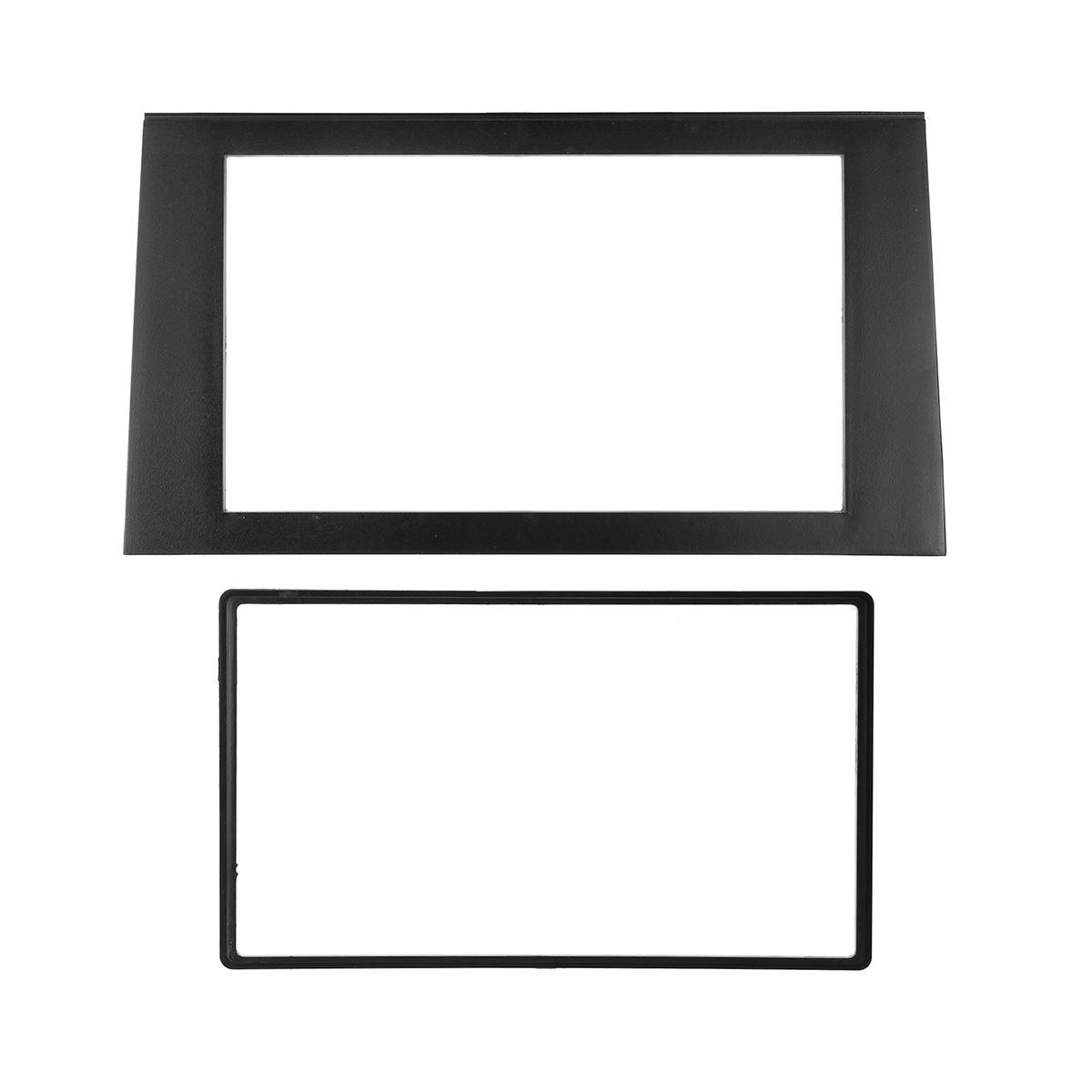 2 DIN Car Stereo Radio Fascia Panel Plate Frame Adaptor CD Trim Dash Mount Kit For 2002-2008 Audi A4 B7//2002-2006 Audi