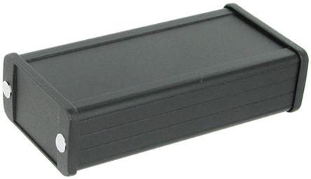 Hammond 1457, Black Aluminium Enclosure, IP65, 120 x 59 x 30.9mm