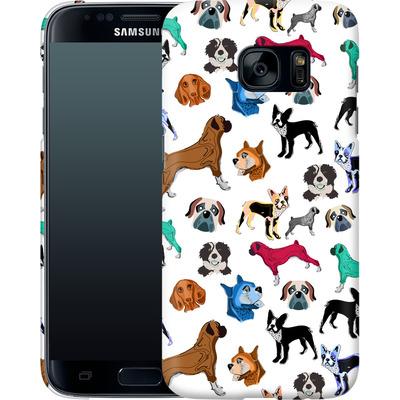 Samsung Galaxy S7 Smartphone Huelle - Puppy Love von Mukta Lata Barua