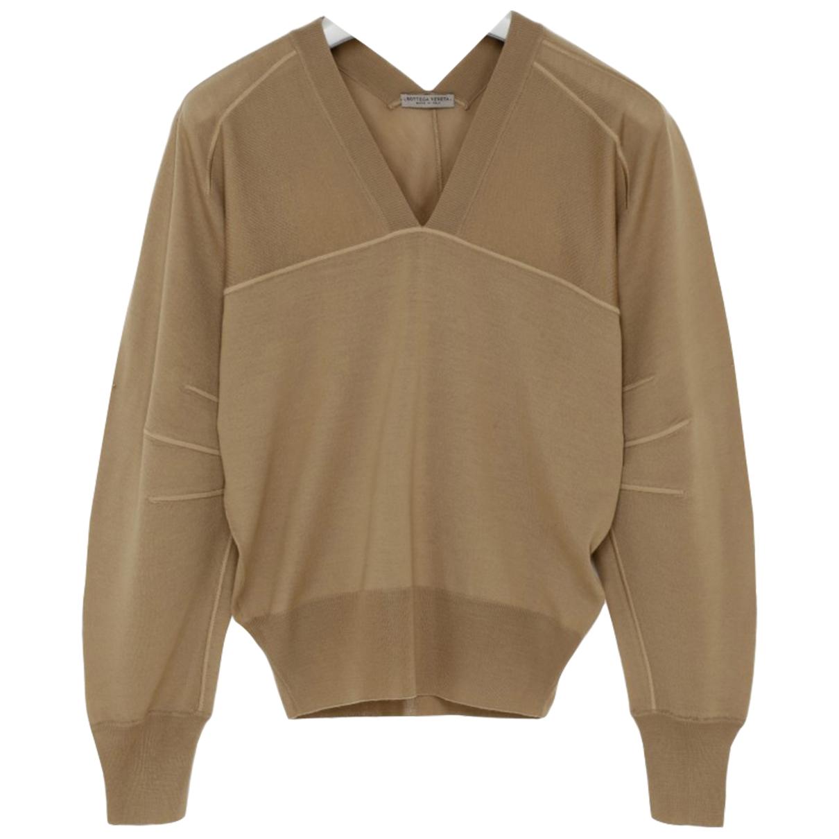 Bottega Veneta - Pull   pour femme en laine - beige