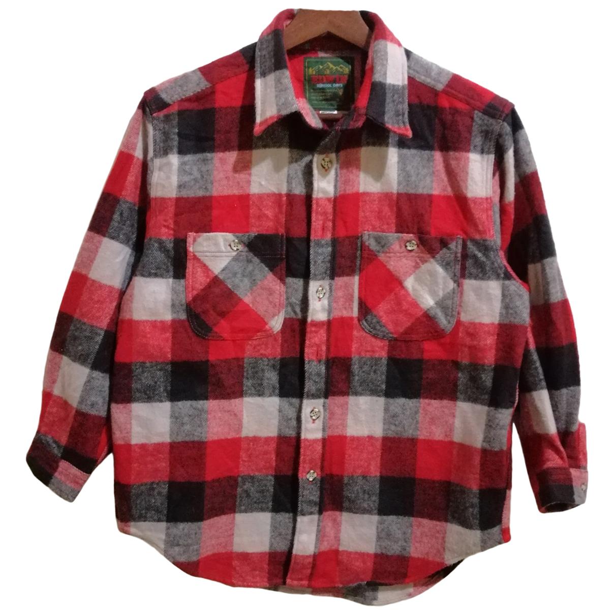 Edwin N Red Shirts for Men M International