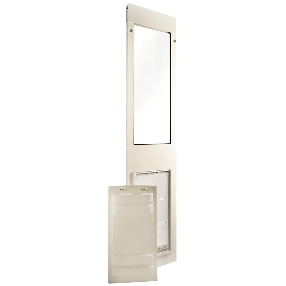 Endura Flap Pet Door - Thermo Panel 3e White Frame - Large (93.25