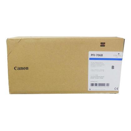 Canon PFI-706B 6689B001AA Original Blue Ink Cartridge High Yield