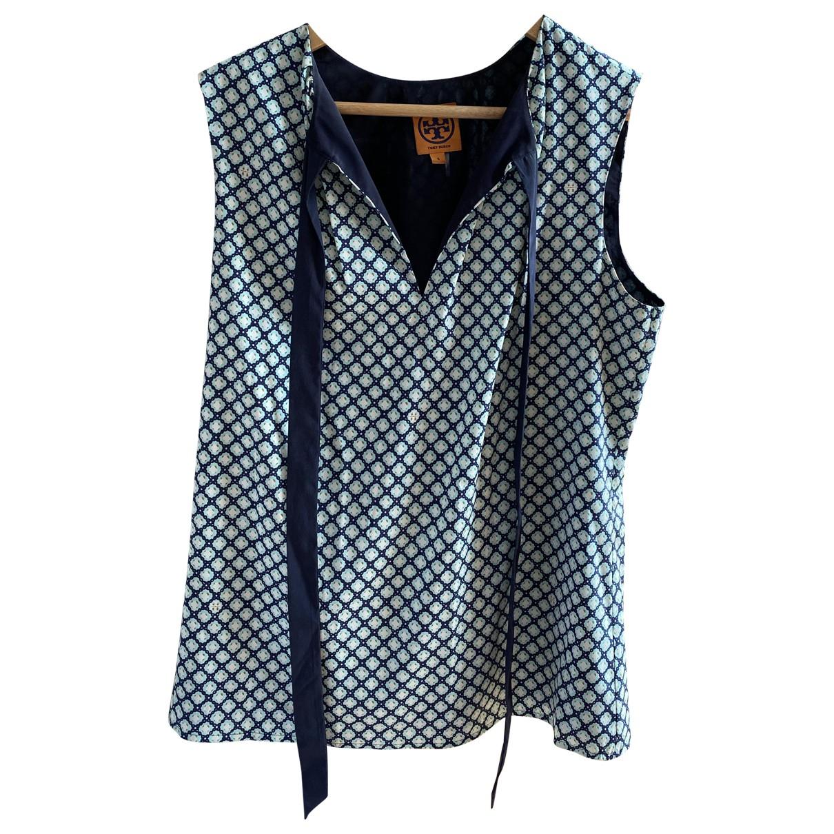 Tory Burch \N Blue Silk  top for Women 4 US