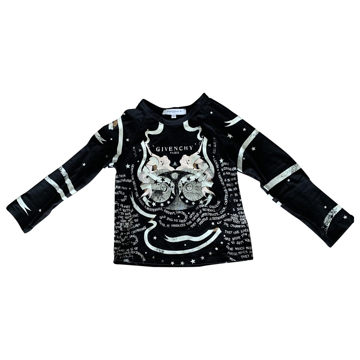 Givenchy \N Black Cotton  top for Kids 4 years - up to 102cm FR