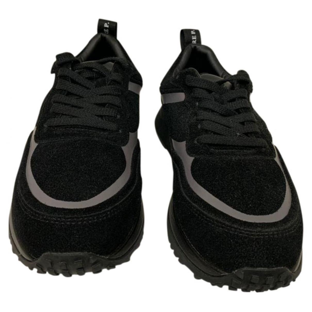 Cesare Paciotti \N Sneakers in  Schwarz Veloursleder