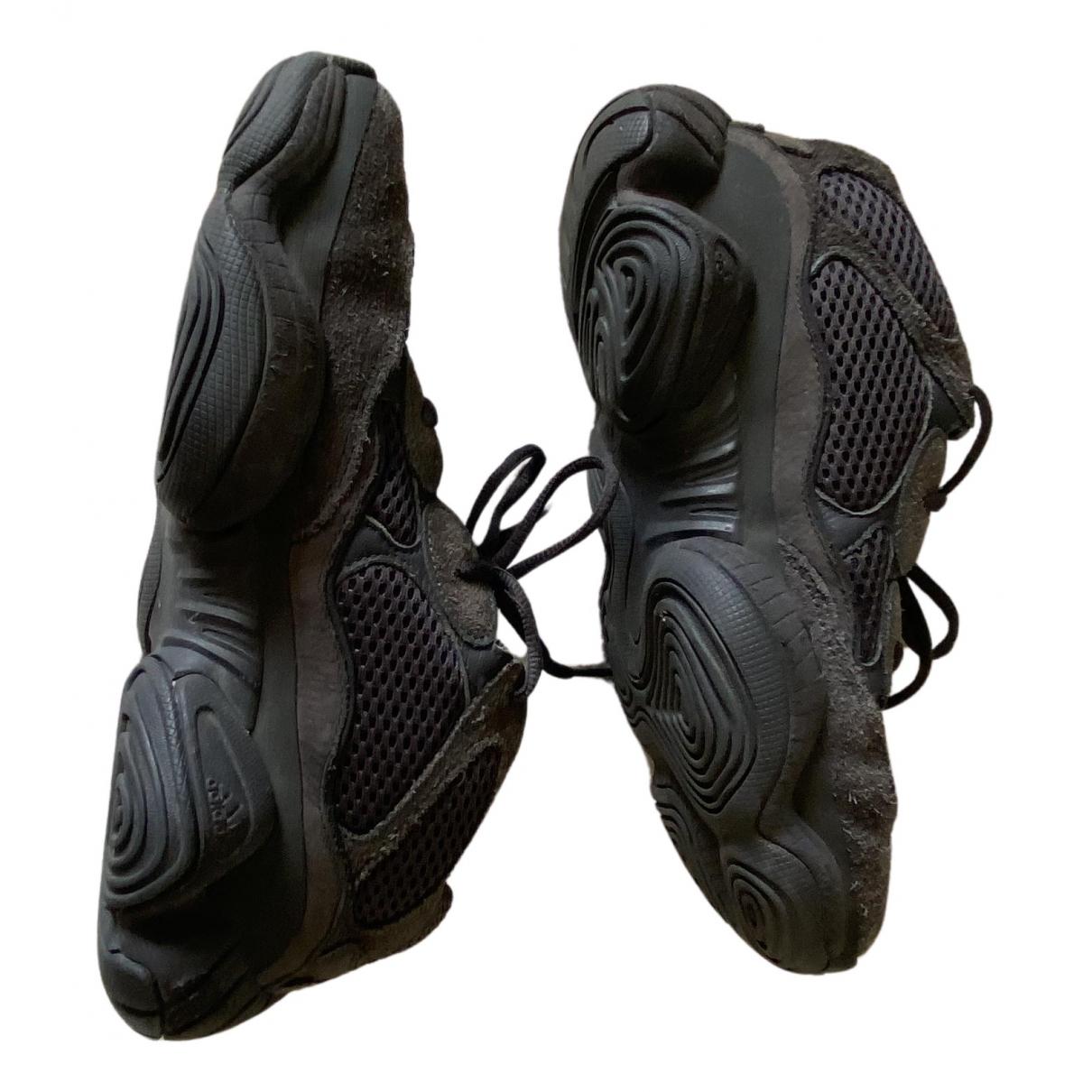 Yeezy X Adidas - Baskets 500 pour femme en toile - noir