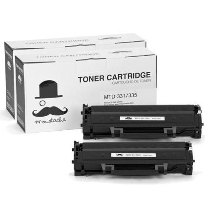 Compatible Dell 331-7335 HF442 Black Toner Cartridge - 2/Pack