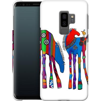 Samsung Galaxy S9 Plus Smartphone Huelle - Horsin Around von Jenny Foster