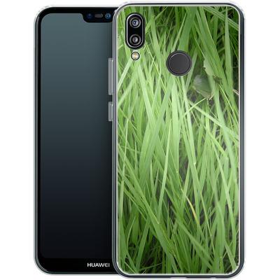 Huawei P20 Lite Silikon Handyhuelle - Grass von caseable Designs