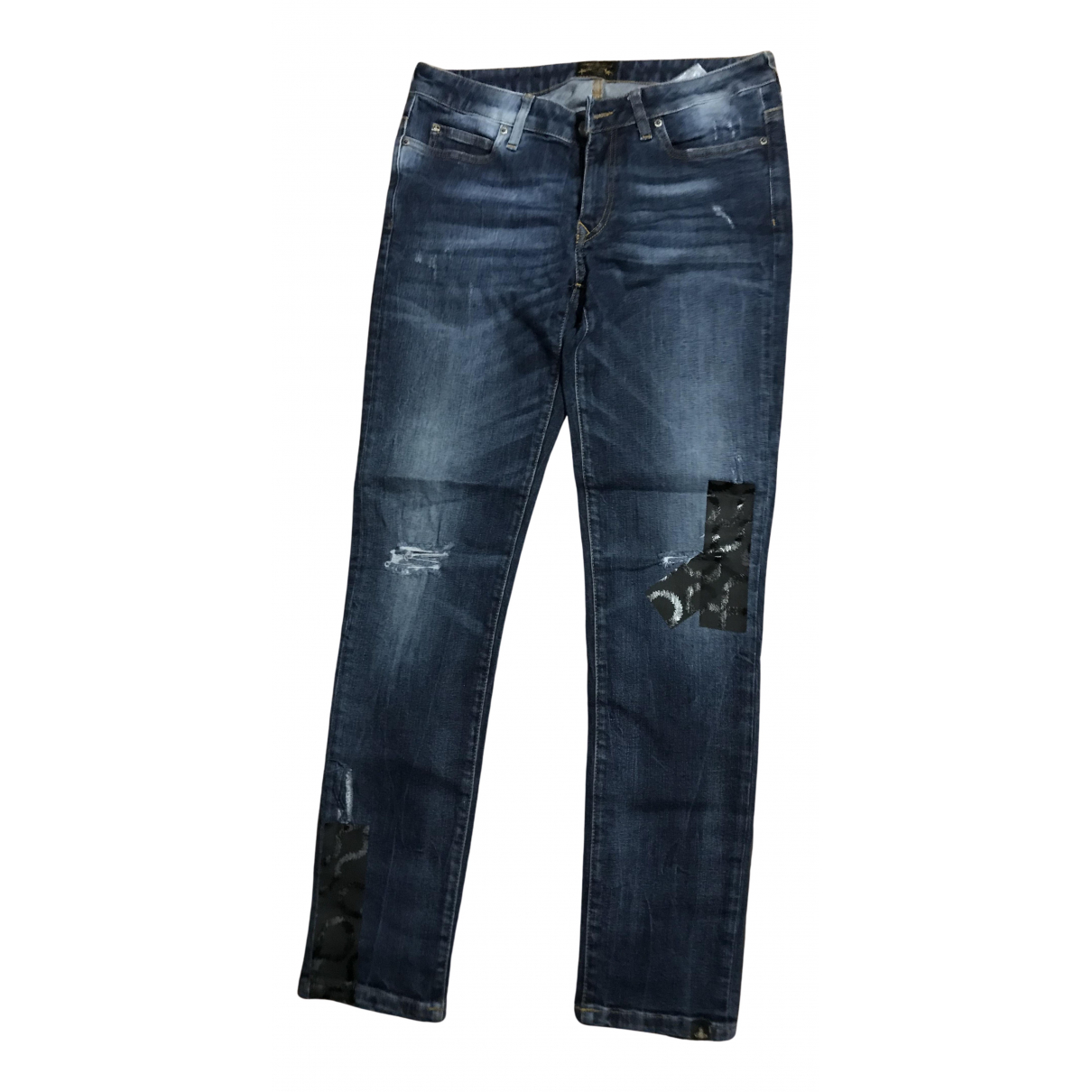 Vivienne Westwood Anglomania N Blue Denim - Jeans Jeans for Women 30 US