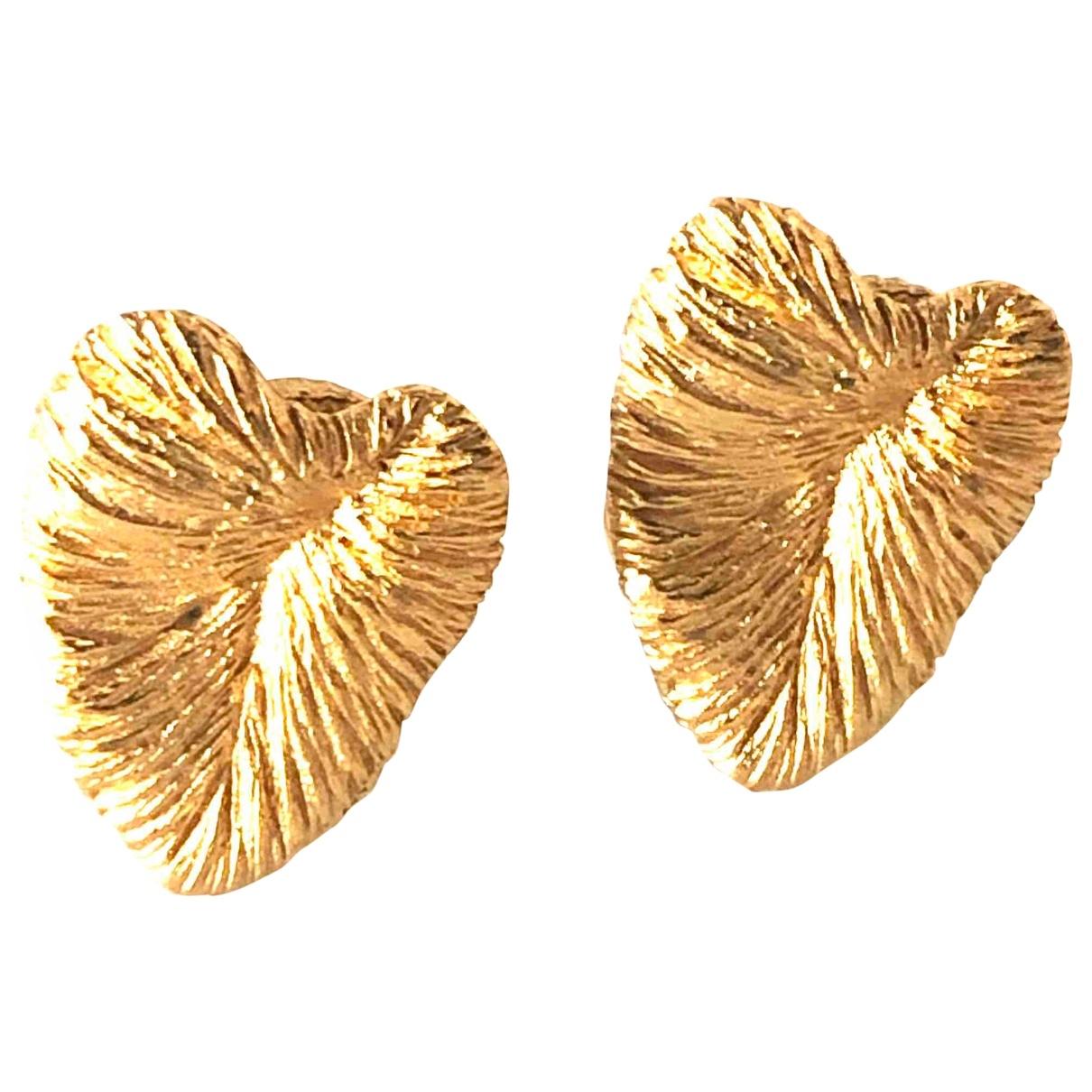Balenciaga - Boucles doreilles   pour femme en metal - dore