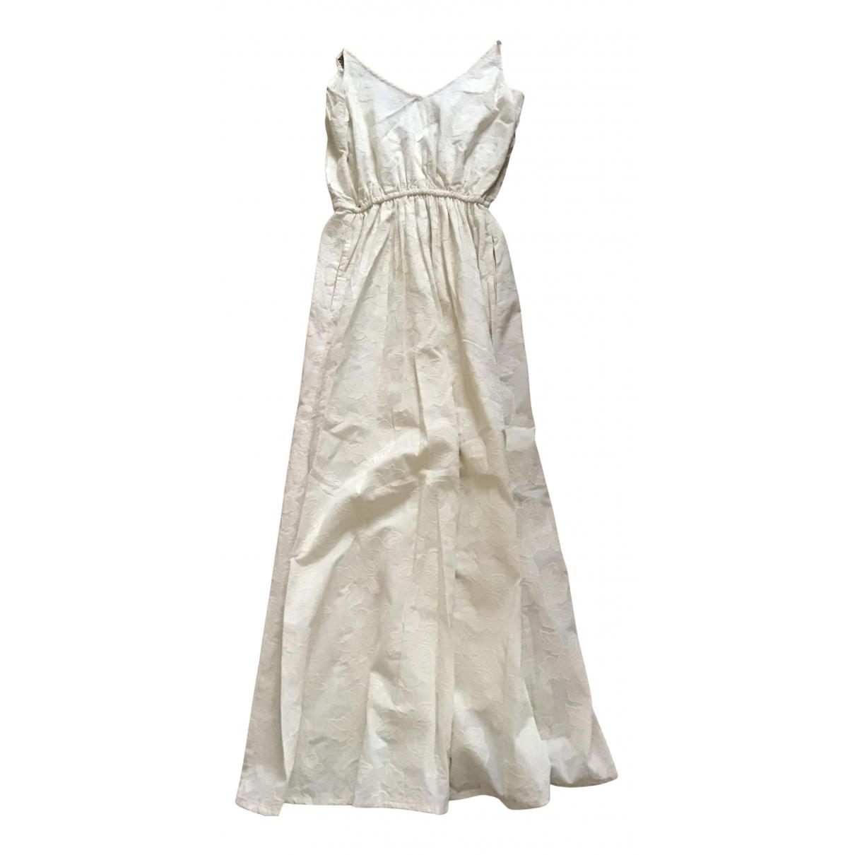 Leon Et Harper - Robe   pour femme en coton - ecru