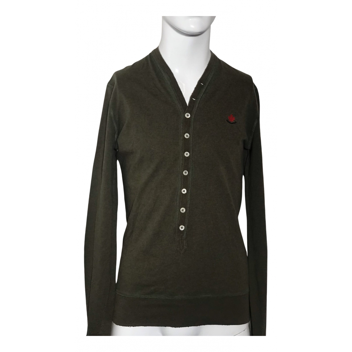 Dsquared2 N Green Cotton Polo shirts for Men M International
