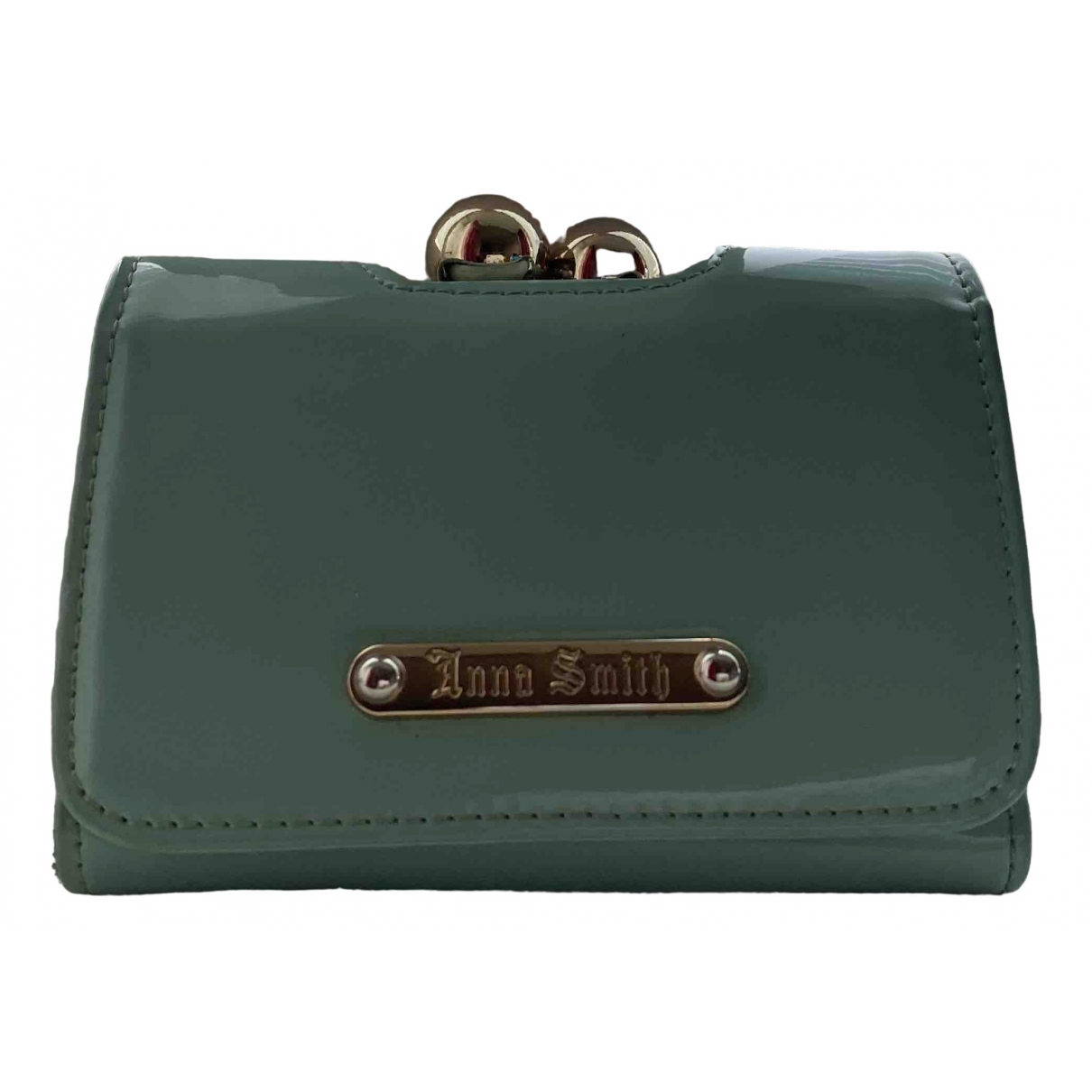 Non Signé / Unsigned \N Blue wallet for Women \N