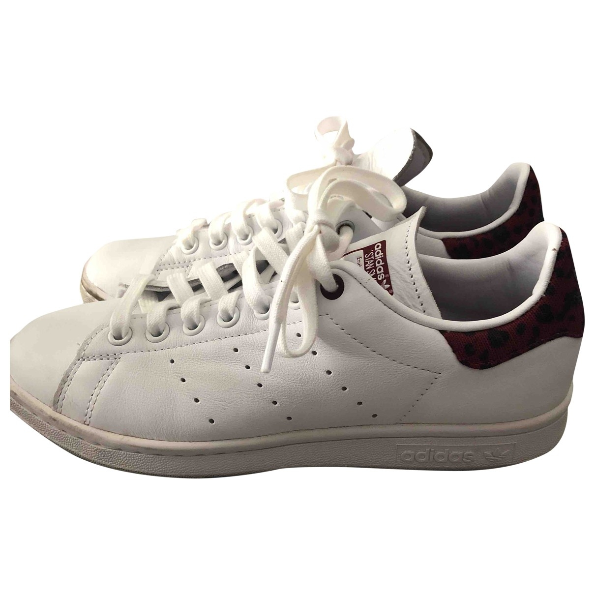 Adidas Stan Smith White Leather Trainers for Women 38.5 IT