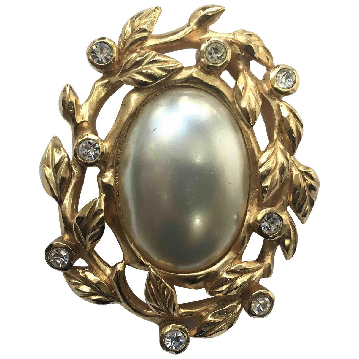Lanvin \N Brosche in  Gold Metall