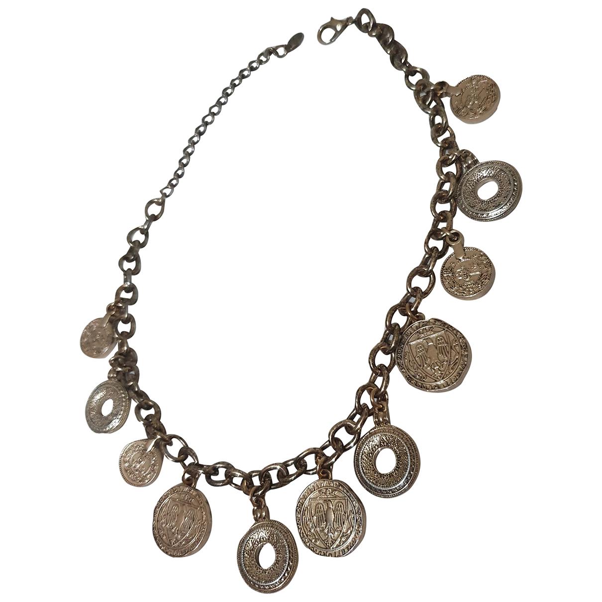 Zara - Collier   pour femme en metal - dore