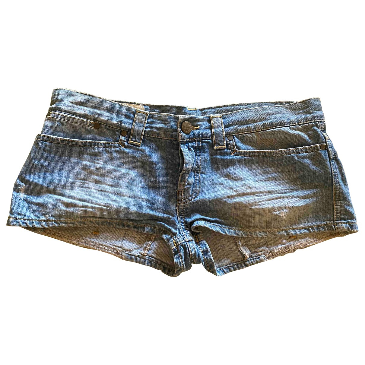 Dondup \N Denim - Jeans Shorts for Women 44 IT