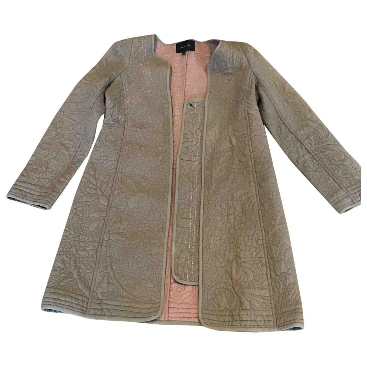 Isabel Marant Etoile - Manteau   pour femme en coton - beige