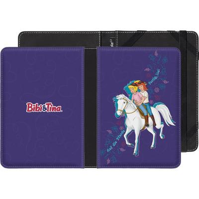 Pocketbook Touch Lux eBook Reader Huelle - Bibi und Tina Pferd von Bibi & Tina