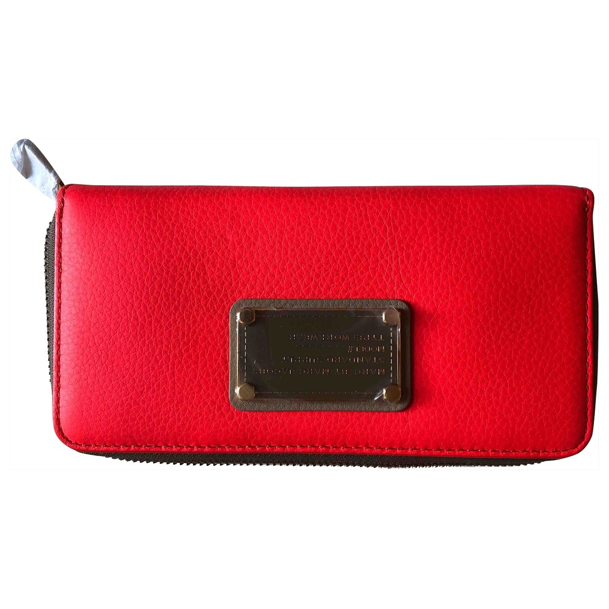 Marc By Marc Jacobs \N Red Leather wallet for Women \N