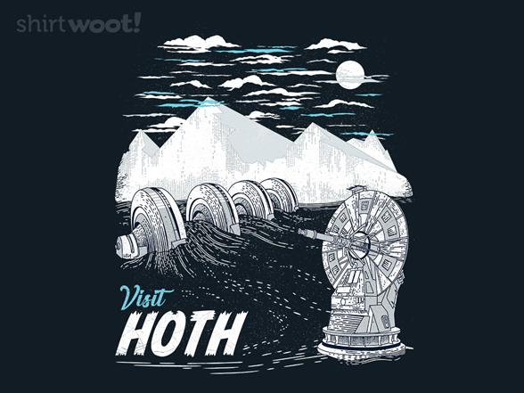 Visit Hoth T Shirt