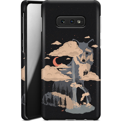 Samsung Galaxy S10e Smartphone Huelle - At the foot of fox mountain von ND Tank