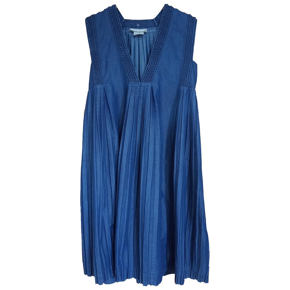 Veronique Branquinho \N Kleid in  Blau Denim - Jeans