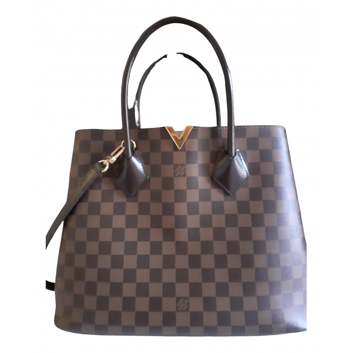 Louis Vuitton Kensington Brown Cloth handbag for Women N