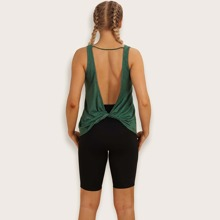Twist V-back Sports Top