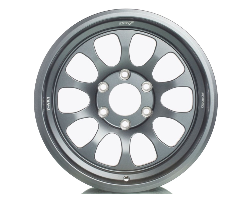 Titan 7 TAK11785001512771ST T-AK1 Wheel 17x8.5 5x127 -1mm Satin Titanium