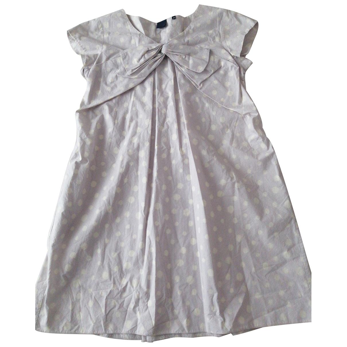Aspesi \N Kleid in  Ecru Baumwolle