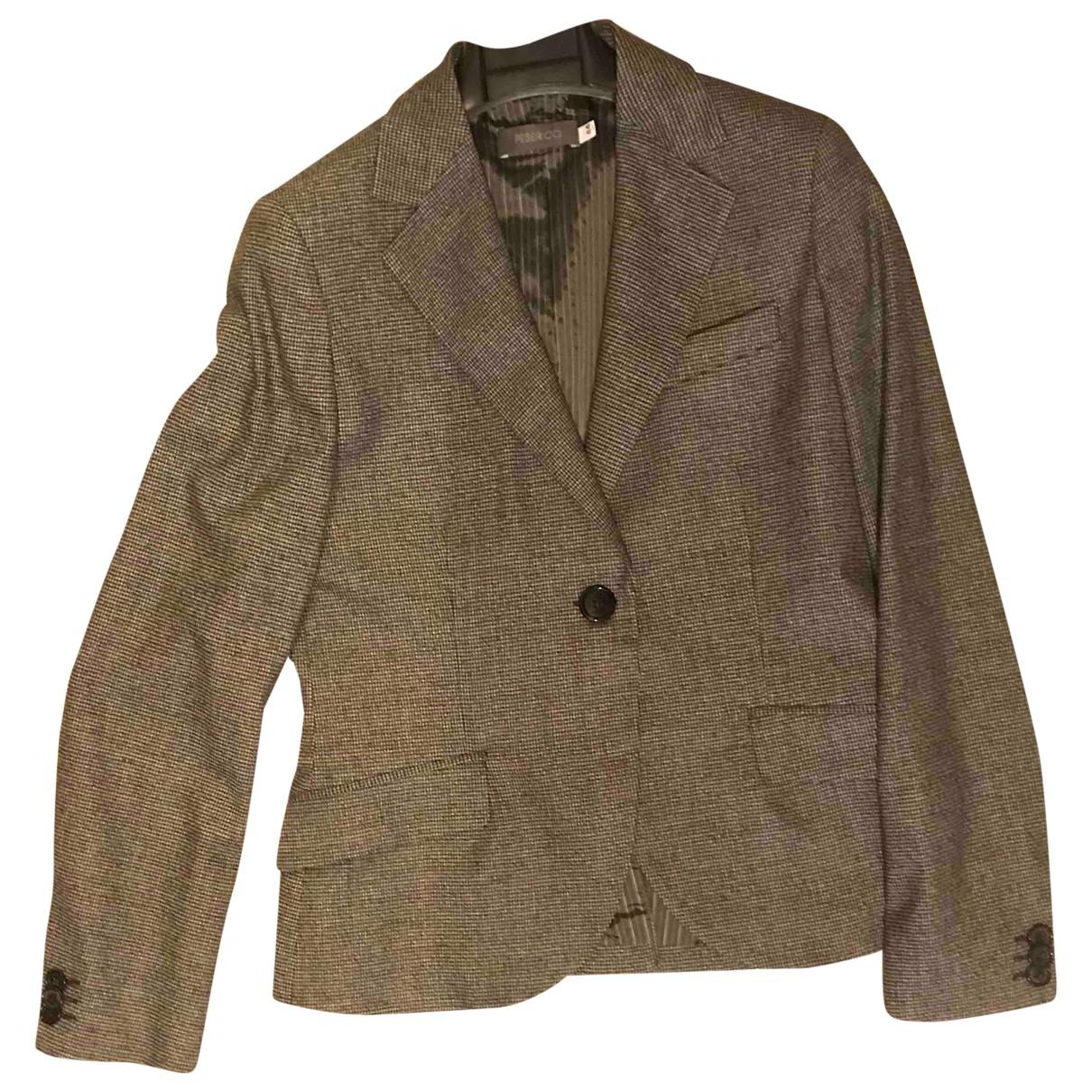 Peserico - Veste   pour femme en laine - multicolore