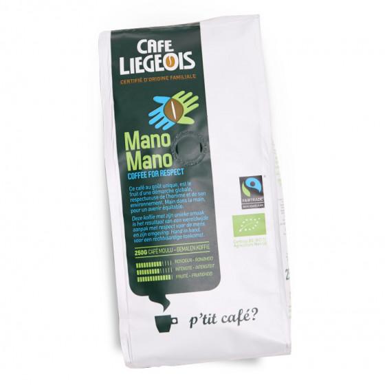 "Gemahlener Kaffee Cafe Liegeois ""Mano Mano"", 250 g"