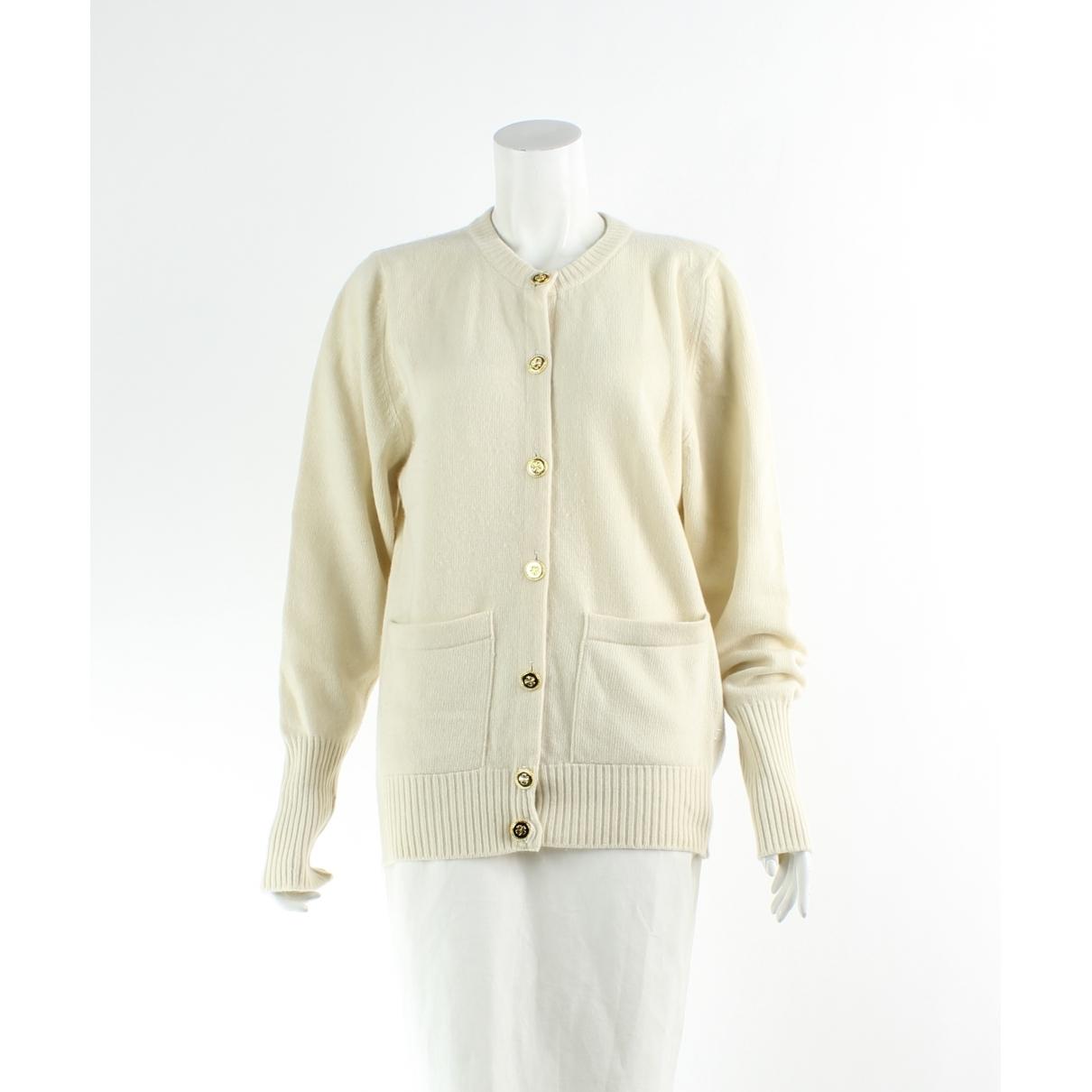 Chanel \N Ecru Cashmere jacket for Women 2 US