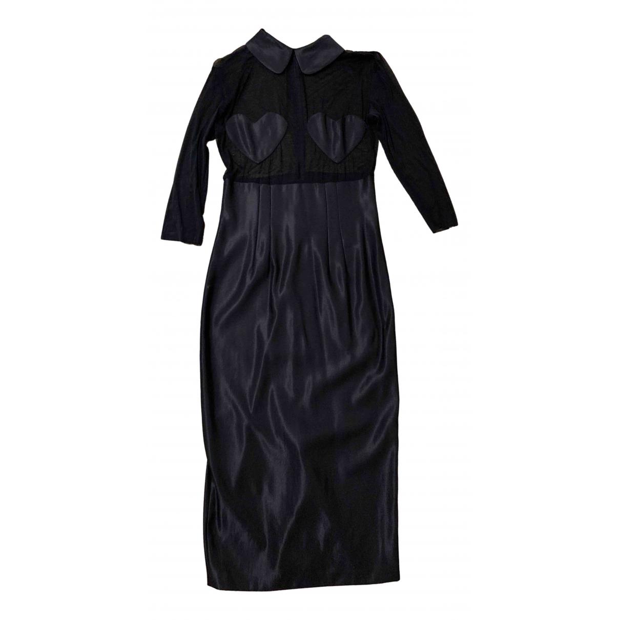 Anna Molinari - Robe   pour femme en laine - noir